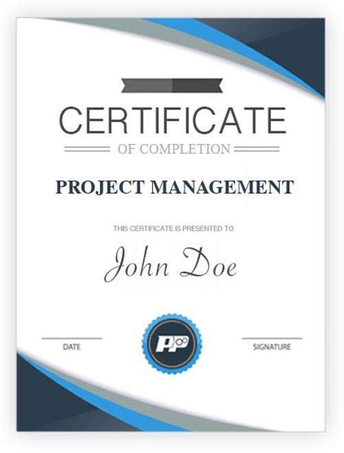 Project Management Certificate Big People Process